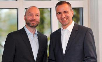 .dotkomm- Geschäftsführer Ingo Gregus und Stefan Raake, Geschäftsführer des AMC (von links)