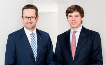 Jörg W. Stotz und Marc Drießen, Geschäftsführung Hansainvest