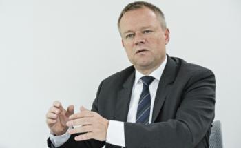 Torsten Haupt, Hauptbevollmächtigter von Aegon in Deutschland. Foto: Uwe Nölke