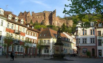 Studentenstadt Heidelberg. Quelle: Pixelio