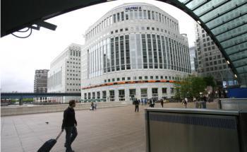 Der Londoner Hauptsitz der Nachrichtenagentur Reuters befindet sich im Portfolio des Kanam Grundinvest (Foto: Bloomberg)