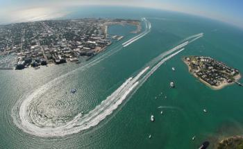 nur 10 Hubschrauber-Minuten entfernt: David Wolkowskys Geburtsort Key West Quelle: Getty Images