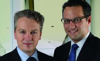 Aragon-Vorstände Ralph Konrad (links) und Sebastian Grabmaier