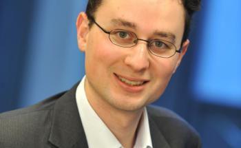 Hier sich zwei Monate in Hongkong auf: Fondsmanager Damien Lanternier
