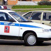 Ein russischer Polizeiwagen. <br> Finanzberater sind in Russland <br> beliebter als Polizisten. <br> Quelle: Wikipedia