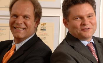 Manfred Piontke (li.) und Martin Wirth von FPM