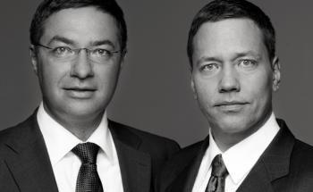 Arne Sand und Max Schott (von links)