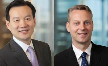 Jeff Shen (li.) und Jan Bratteberg, beide Fondsmanager bei <br> Blackrock