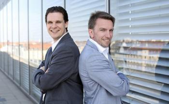 Tobias Haff (links) und Daniel Hering.