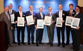 Die Gewinner des Firstfive-Awards 2016. Foto: © Sabine Antonius