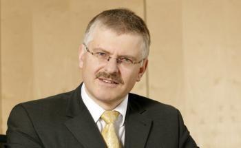Gottfried Urban, Vorstand des Vermögensverwalters Neue Vermögen