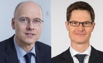 Michael Hessling (links) und Andreas Wimmer. Foto: Allianz
