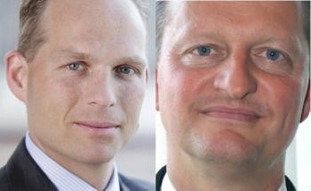 Stephen Voss (links) und Jürgen Rußwurm