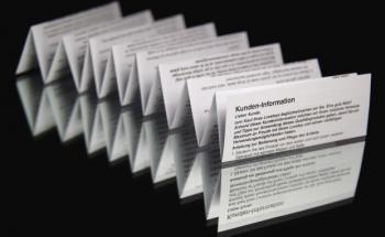 Beipackzettel für Finanzprodukte lassen laut Bafin noch <br>sehr zu wünschen übrig. Quelle: Fotolia