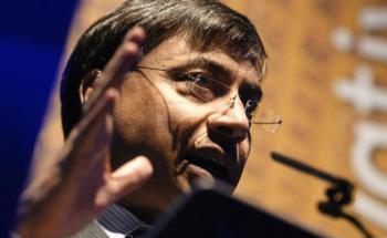 Laksmi Mittal, der reichste Mann Großbritanniens. <br> Quelle: Getty Images