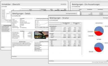 Reporting für illiquide Assets (Muster), Quelle: Icomps