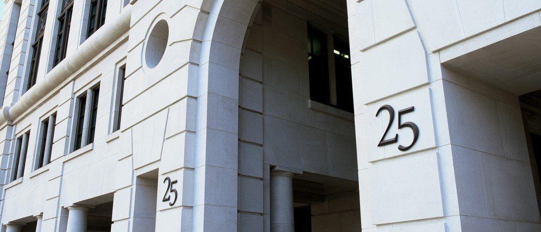 Bürogebäude von Fidelity International in London|© Fidelity International