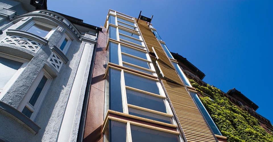 Rückseite ist nur 80 Zentimeter breit: Das schmalste Haus Deutschlands