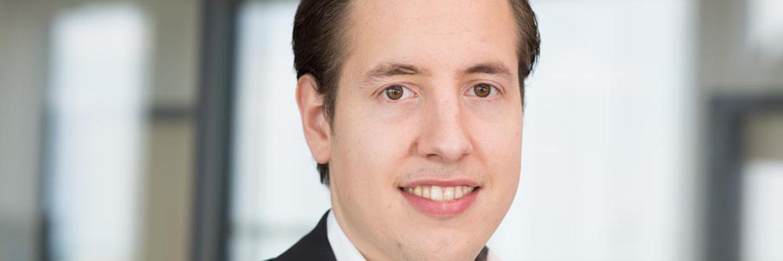 Lars Reiner ist Geschäftsführer bei Ginmon aus Frankfurt.