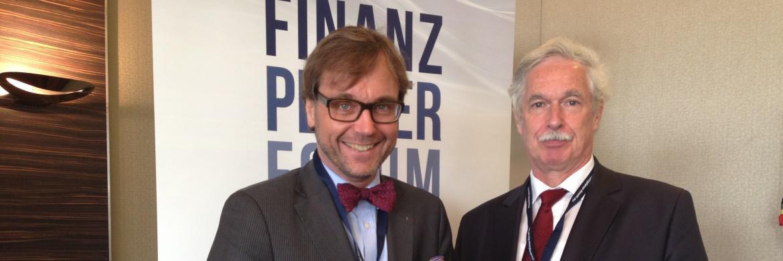 Initiatoren der Veranstaltungsreihe Guido Küsters und Otto Lucius
