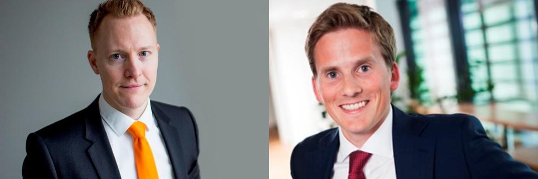 Knut Gezelius (links) und Erik Landgraff (rechts), Portfoliomanager bei SKAGEN Funds