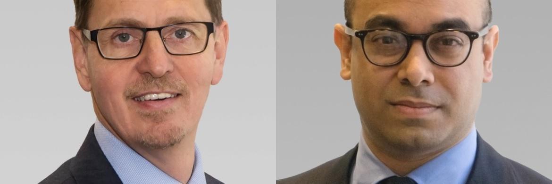 Von der Investmentgesellschaft AB: Mark Phelps (links), Investmentchef Concentrated Global Growth Equities, und Portfoliomanager Dev Chakrabarti
