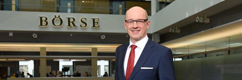 Michael Völter, Vorsitzender des Vorstands der Vereinigung Baden-Württembergische Wertpapierbörse e.V.|© Boerse Stuttgart GmbH