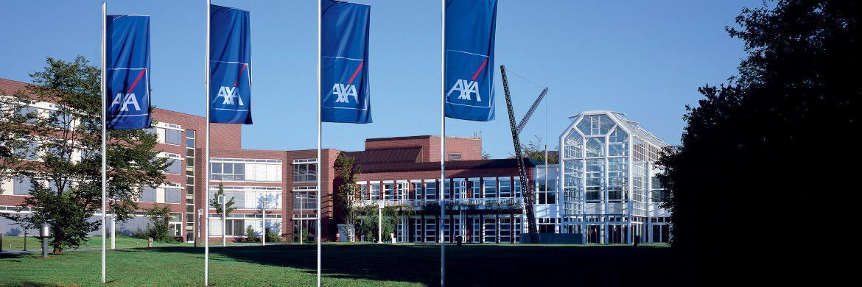 Axa-Hauptverwaltung: Der Versicherer verschickt an seine LV-Kunden die transparentesten Standmitteilungen|© Axa