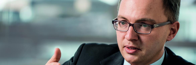 Patrick Dahmen, AXA-Vorstand|© Jochen Rolfes