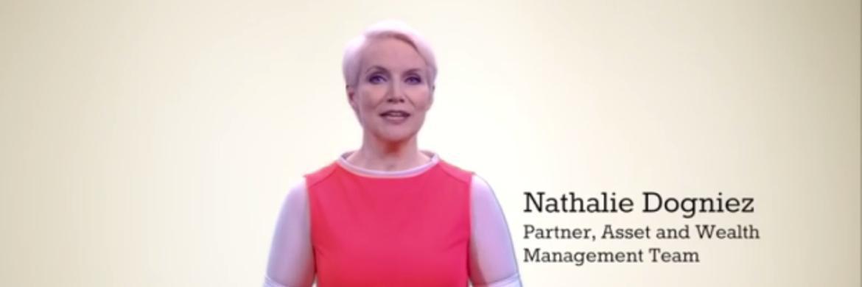Nathalie Dogniez von Price Waterhouse Coopers im ersten Lehrvideo auf www.buzz4funds.com