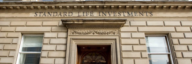 Hauptsitz von Standard Life Investments im schottischen Edinburgh