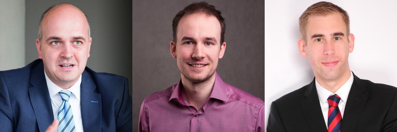 v.l.: Oliver Kieper (Vorstand und Gesellschafter des Hamburger Maklerpools <a href='http://www.nfs-netfonds.de/' target='_blank'>Netfonds</a>), Viktor Becher (Gr&uuml;nder des Versicherungsportals <a href='https://getsurance.de/' target='_blank'>Getsurance</a>), Jens Reichow (Rechtsanwalt in der <a href='http://joehnke-reichow.de/' target='_blank'>Kanzlei J&ouml;hnke & Reichow</a>)&nbsp;|&nbsp;&copy; Florian Sonntag (Foto links)