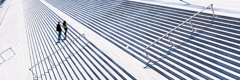 Die Treppe hinaufgehen - aber genau wohin?|© UBS