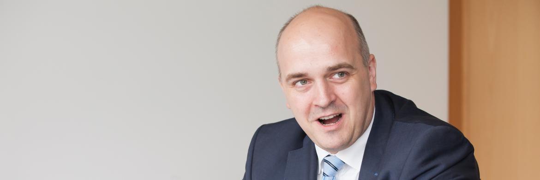 Oliver Kieper, Vorstand und Gesellschafter des Hamburger Maklerpools <a href='http://www.nfs-netfonds.de/' target='_blank'>Netfonds</a>&nbsp;|&nbsp;&copy; Florian Sonntag