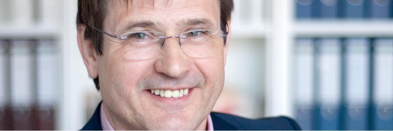 Volker Schmidt, Geschäftsführer der SEB Steuerberatung mit Sitz in Neubrandenburg und Wildeshausen