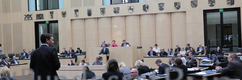 Blick in den Plenarsaal des Bundesrats|© © Bundesrat | Frank Bräuer