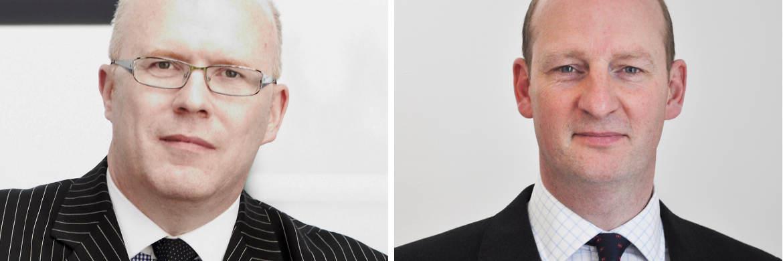 Vertriebsleiter Steve Kenny (li.) und Produktspezialist Nick Edwardson, beide Kames Capital|© Kames Capital