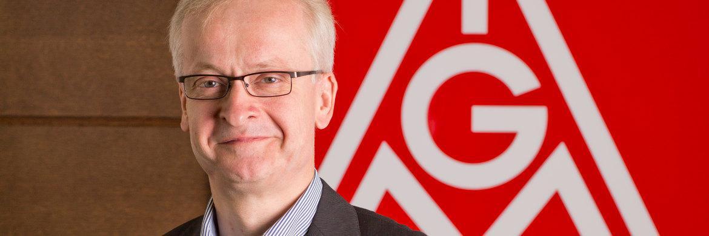 IG-Metall-Vorstandsmitglied Hans-Jürgen Urban