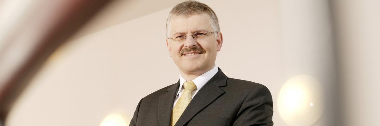 Gottfried Urban ist Vorstand der Bayerische Vermögen AG in Altötting.
