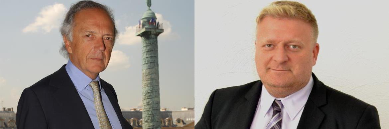 Bei Netfonds weit oben in der Top-Seller-Liste: Carmignac-Gründer Edouard Carmignac (links) und Alexander Steinke, Manager des Deutschen Stiftungsfonds