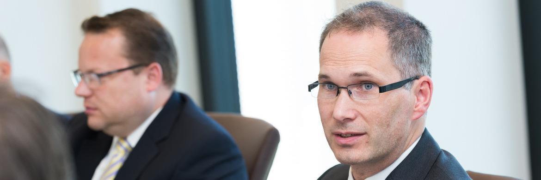 Guntram Overbeck, Leiter Produktmanagement der Helvetia Leben|© Lutz Sternstein
