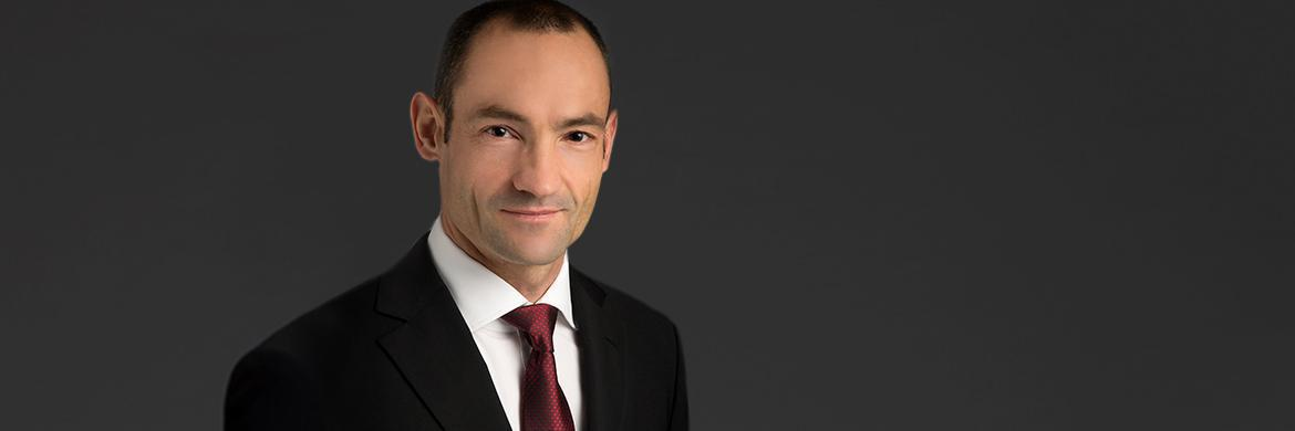Patrick Zimmermann, Fondsmanager des UBS Equity Global High Dividend