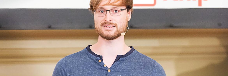 Knip-Chef und Gründer Dennis Just