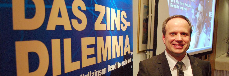 Martin Paulsen, Fondsmanager beim Itzehoer Aktien Club (IAC)