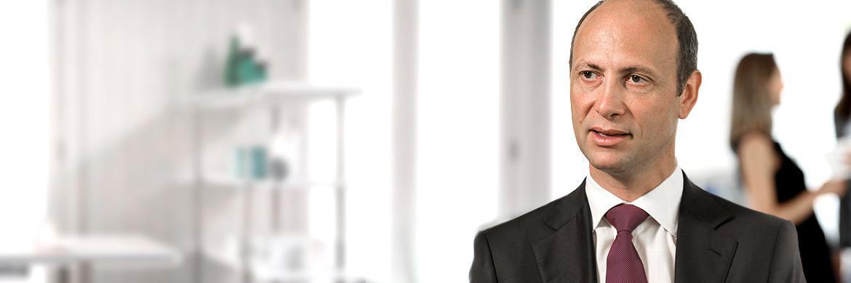 Jean-Pascal Porcherot, Leiter der Hedge-Fonds-Strategien-Plattform 1798 von Lombard Odier Investment Managers