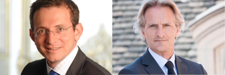 Edmond de Rothschild Asset Management-Experten: Benjamin Melman (links), Leiter Asset Allocation und Sovereign Debt, und Christophe Foliot (rechts), Leiter International Equities