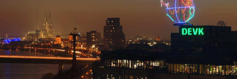 Die DEVK-Zentrale in Köln: Der Versicherer ist eine der sechs PKV-Anbieter mit der Bestnote|© DEVK