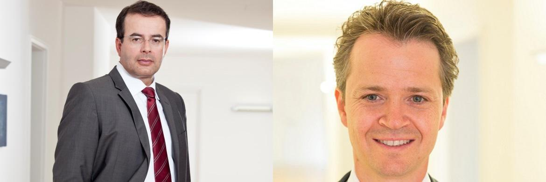Thomas Elster (links) und Philipp Hendel von der Wirtschaftskanzlei Roller & Partner