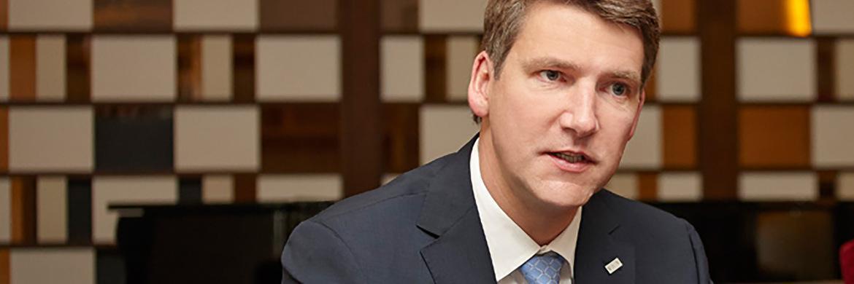 Andreas Grünewald, Vorsitzender des Verbands unabhängiger Vermögensverwalter Deutschland (VuV)