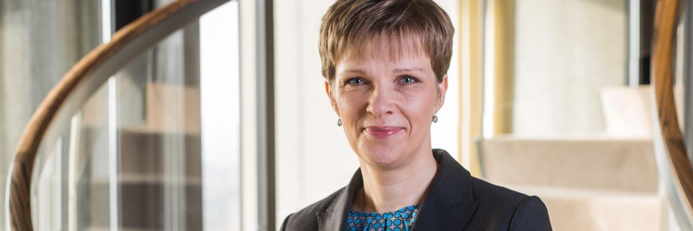 Claudia Buch, Vizepräsidentin der Deutschen Bundesbank, mahnt die Marktteilnehmer zur Vorsicht.|© Deutsche Bundesbank